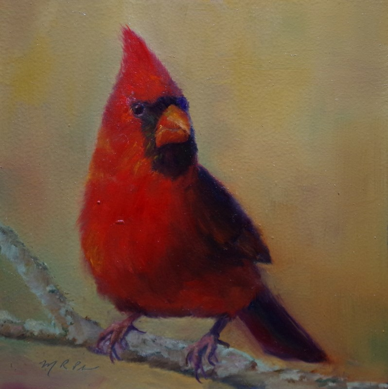 """""""Show Off"""" original fine art by Marilyn R. Place"""