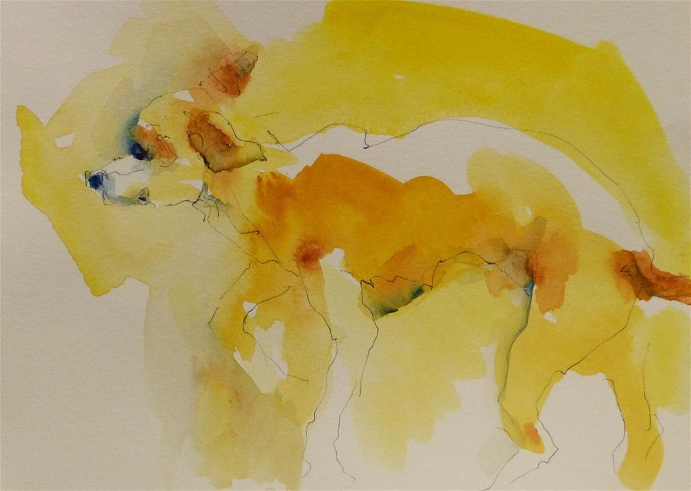"""CafeSketch11"" original fine art by Katya Minkina"