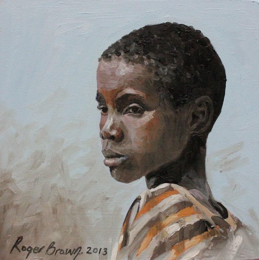 """""""Lorato"""" original fine art by Roger Brown"""