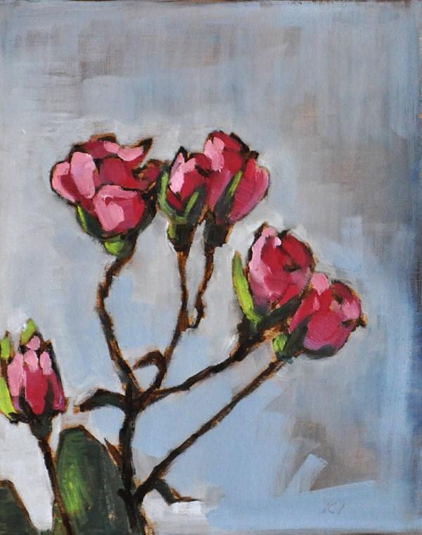 """Rosy Posy"" original fine art by Kevin Inman"