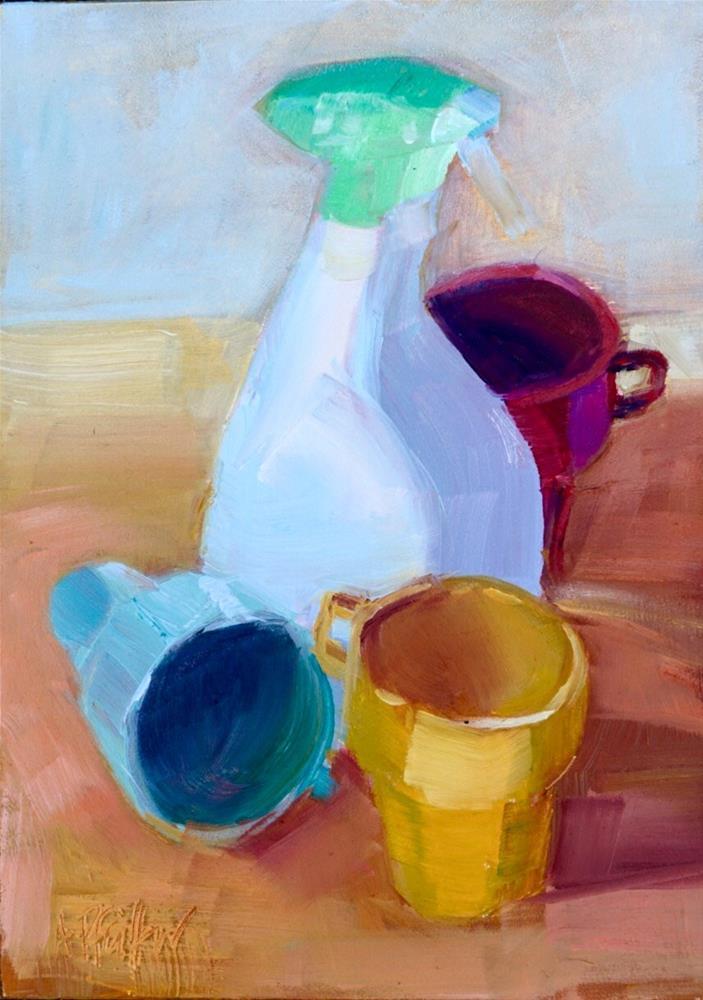 """""""Afternoon"""" original fine art by Anne Pfeiffer"""