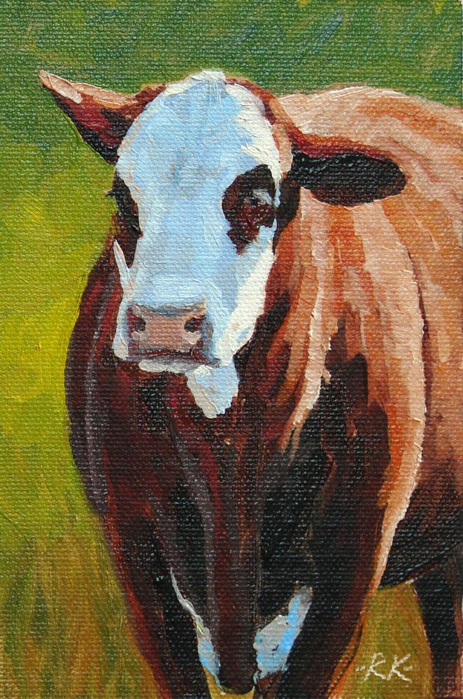 """Bruna"" original fine art by Rita Kirkman"