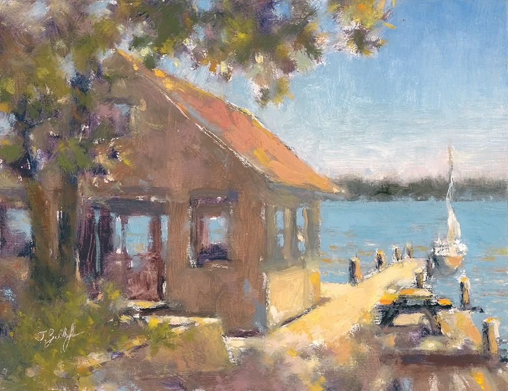 """Sundrenched In St. Clair"" original fine art by Todd Zuithof"