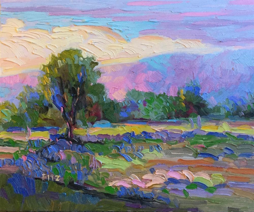 """Pink Light"" original fine art by Charlotte Fitzgerald"
