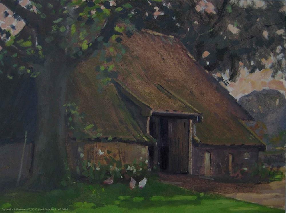 """""""Zegendijk 2. Zieuwent, The Netherlands."""" original fine art by René PleinAir"""