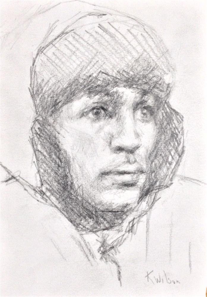 """Drawing  11"" original fine art by Katie Wilson"