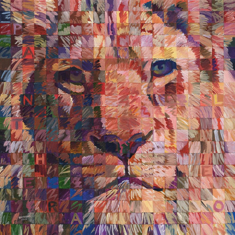 """Panthera Leo (Lion No. 1)"" original fine art by Randal Huiskens"