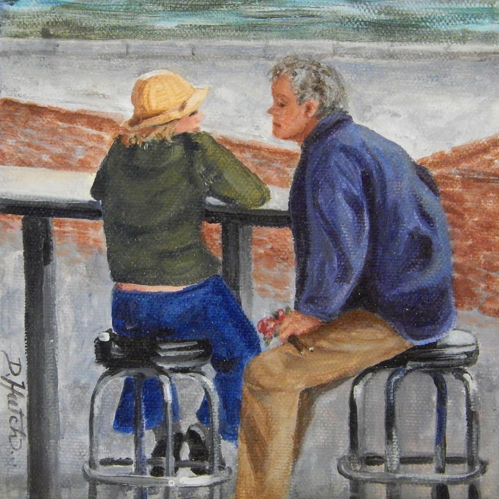 """Unsure"" original fine art by Diane Hutchinson"