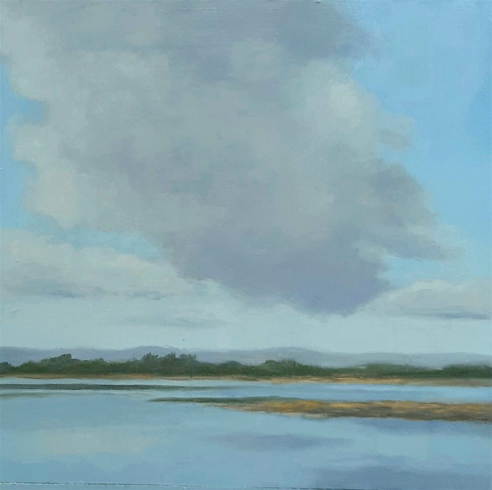 """Morning Cloud"" original fine art by Karen Johnston"