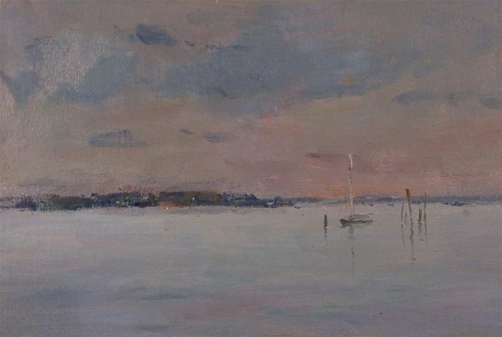 """""""Still Morning"""" original fine art by John Shave"""