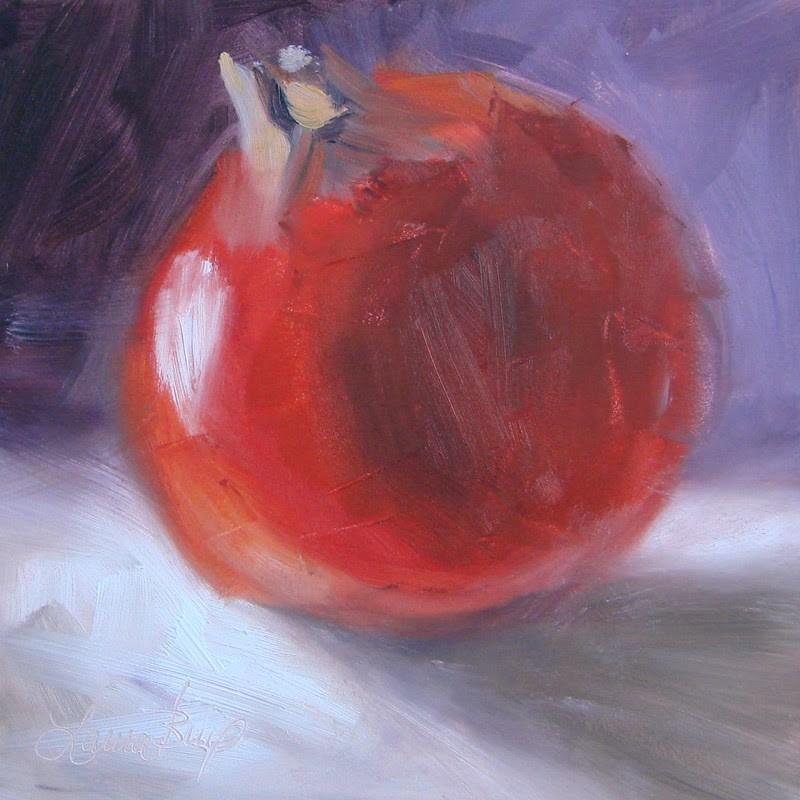 """Winter Fruit 297"" original fine art by Laura  Buxo"
