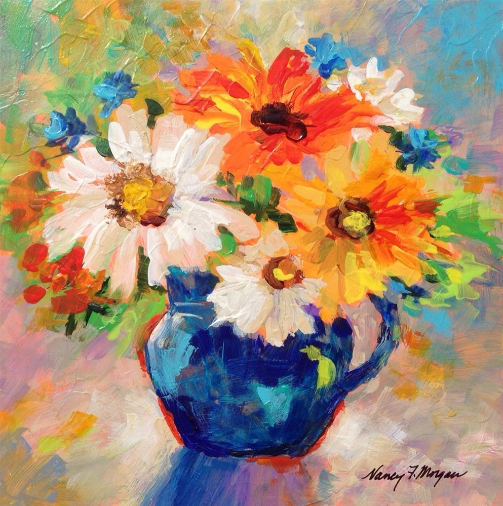 """Morning Mood"" original fine art by Nancy F. Morgan"