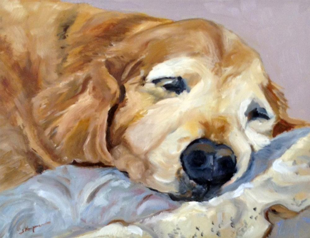 """""""Dakota of Golden Meadow"""" original fine art by Shelley Koopmann"""