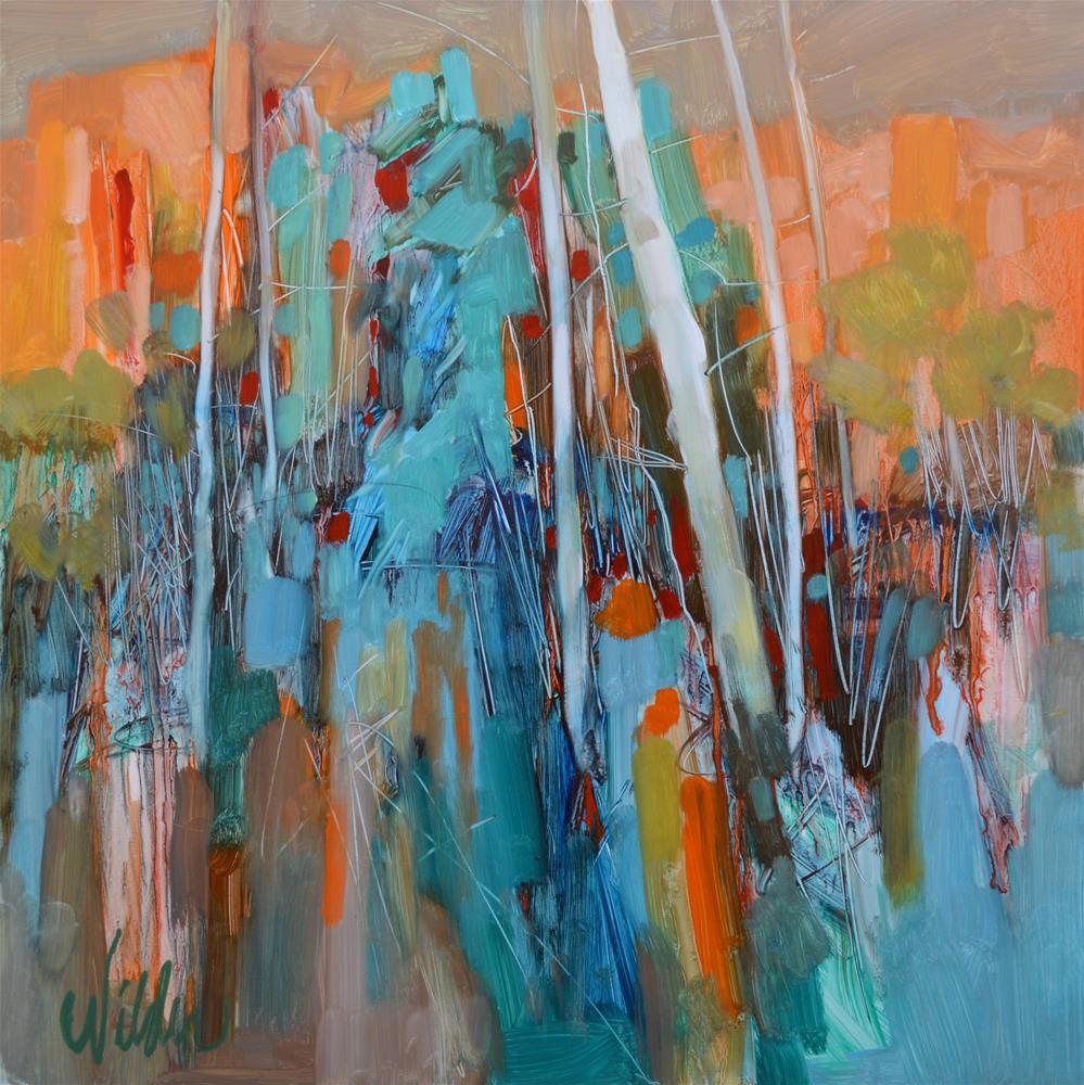 """Last Light"" original fine art by Judy Wilder Dalton"