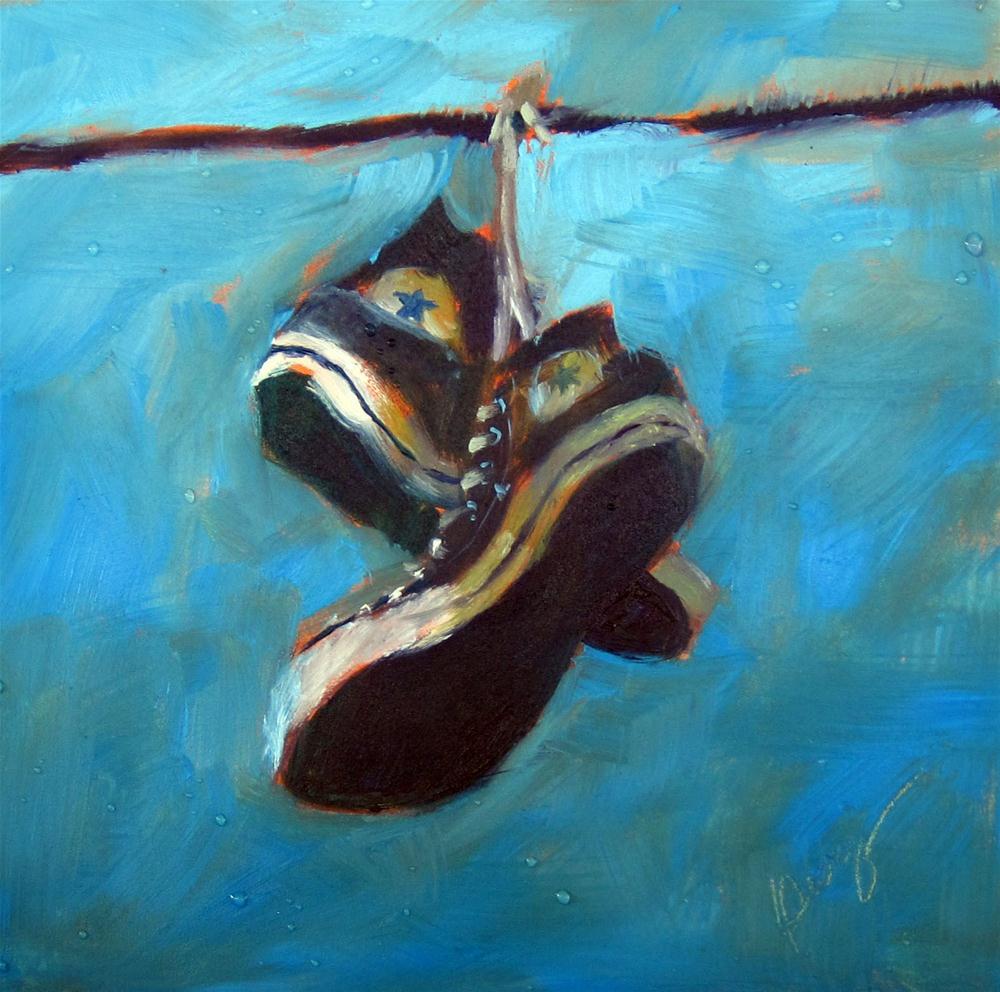 """X"" original fine art by Sharman Owings"