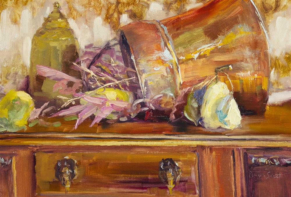 """Celebrate Four"" original fine art by Pamela Sweet"