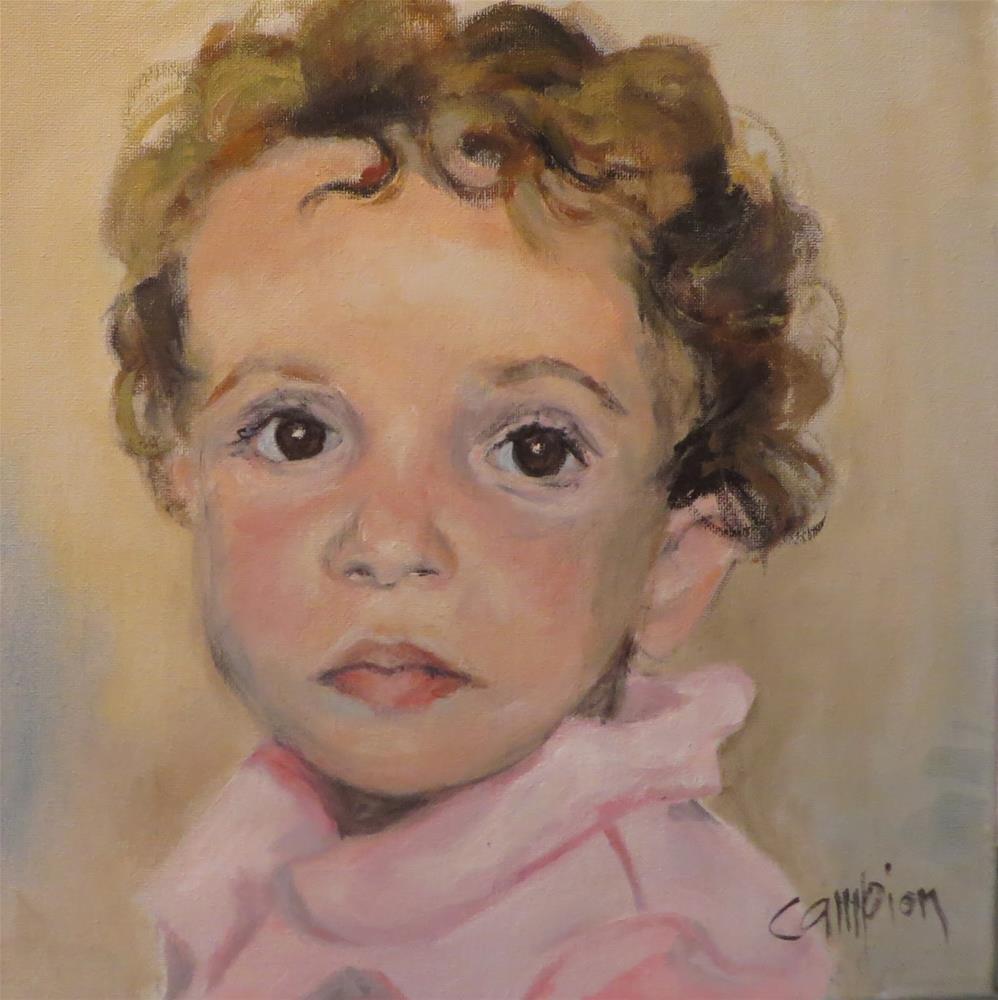 """""""825 Angelic"""" original fine art by Diane Campion"""