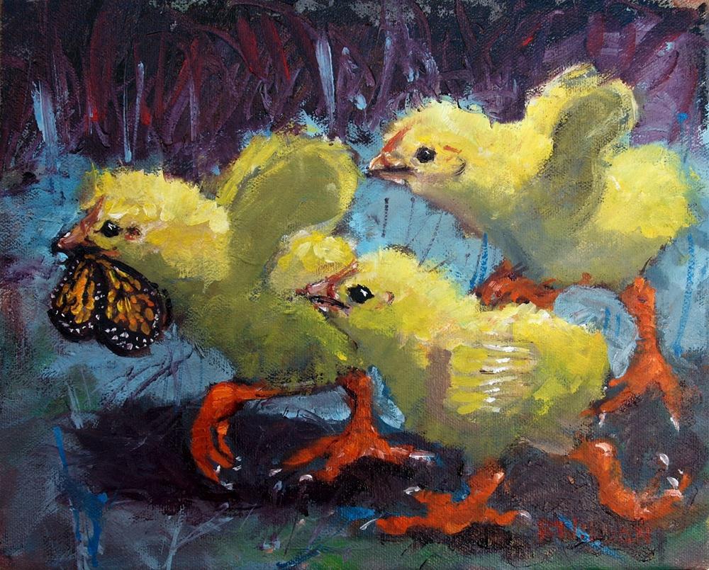 """Eyes on the Prize"" original fine art by Rick Nilson"