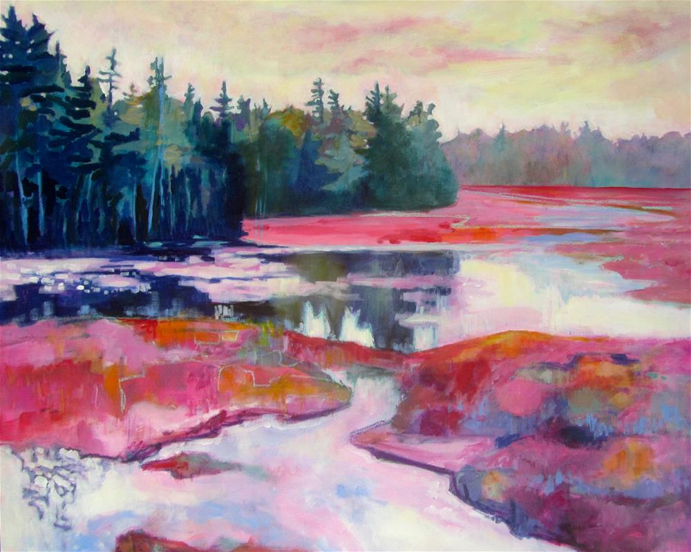 """Morning Glory"" original fine art by Patricia MacDonald"