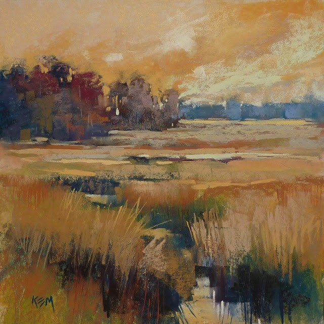 """""""Underpainting 101:What is an Alcohol Wash?"""" original fine art by Karen Margulis"""