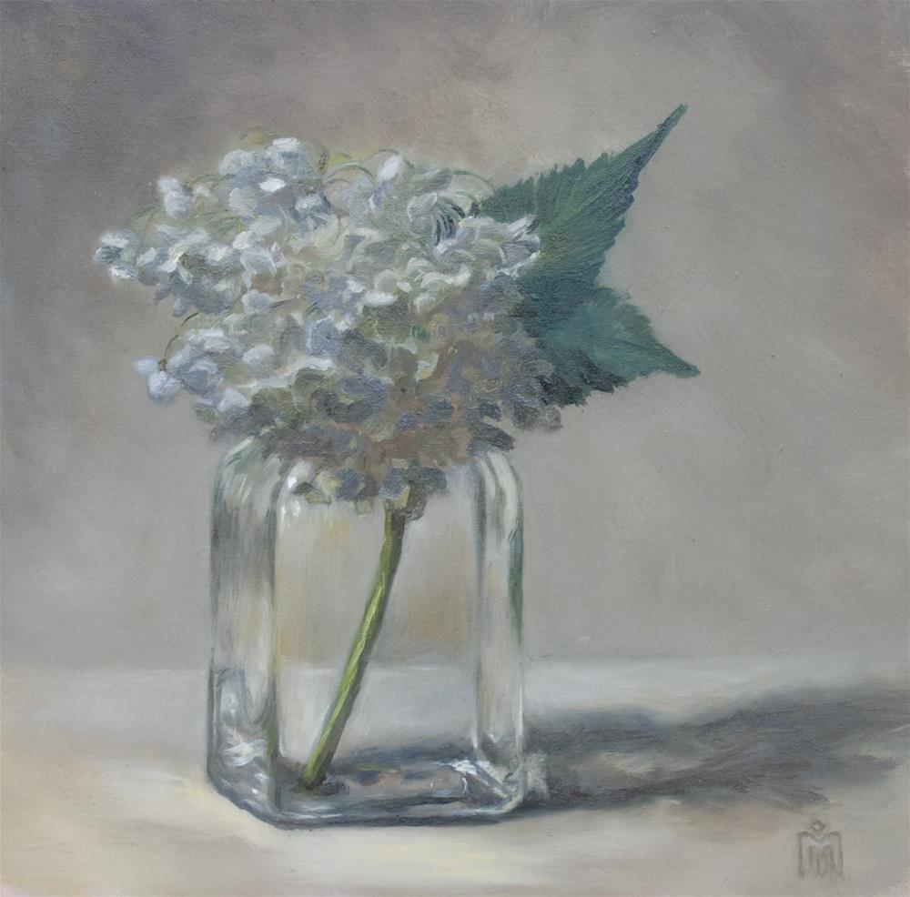 """Hydrangea"" original fine art by Melissa  Imossi"