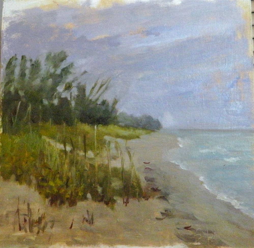 """""""Blind Pass Beach"""" original fine art by Sharon Yarbrough"""