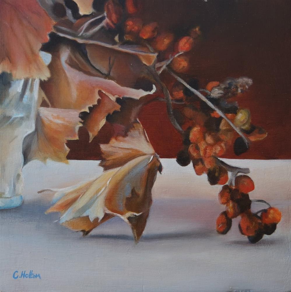 """Autumn "" original fine art by Cathy Holtom"