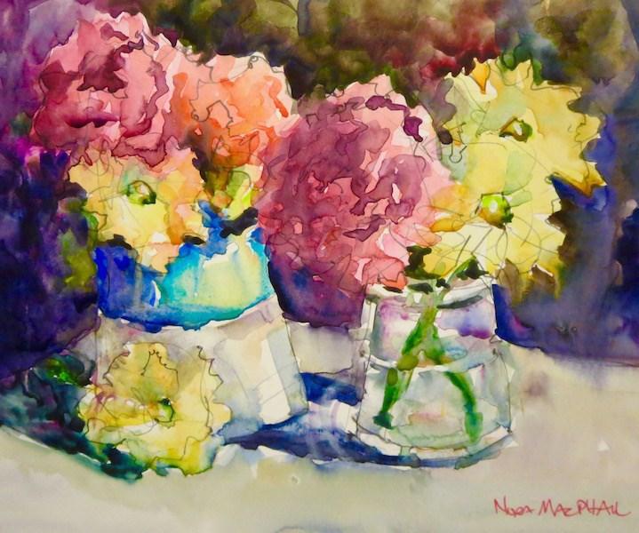 """side by side"" original fine art by Nora MacPhail"