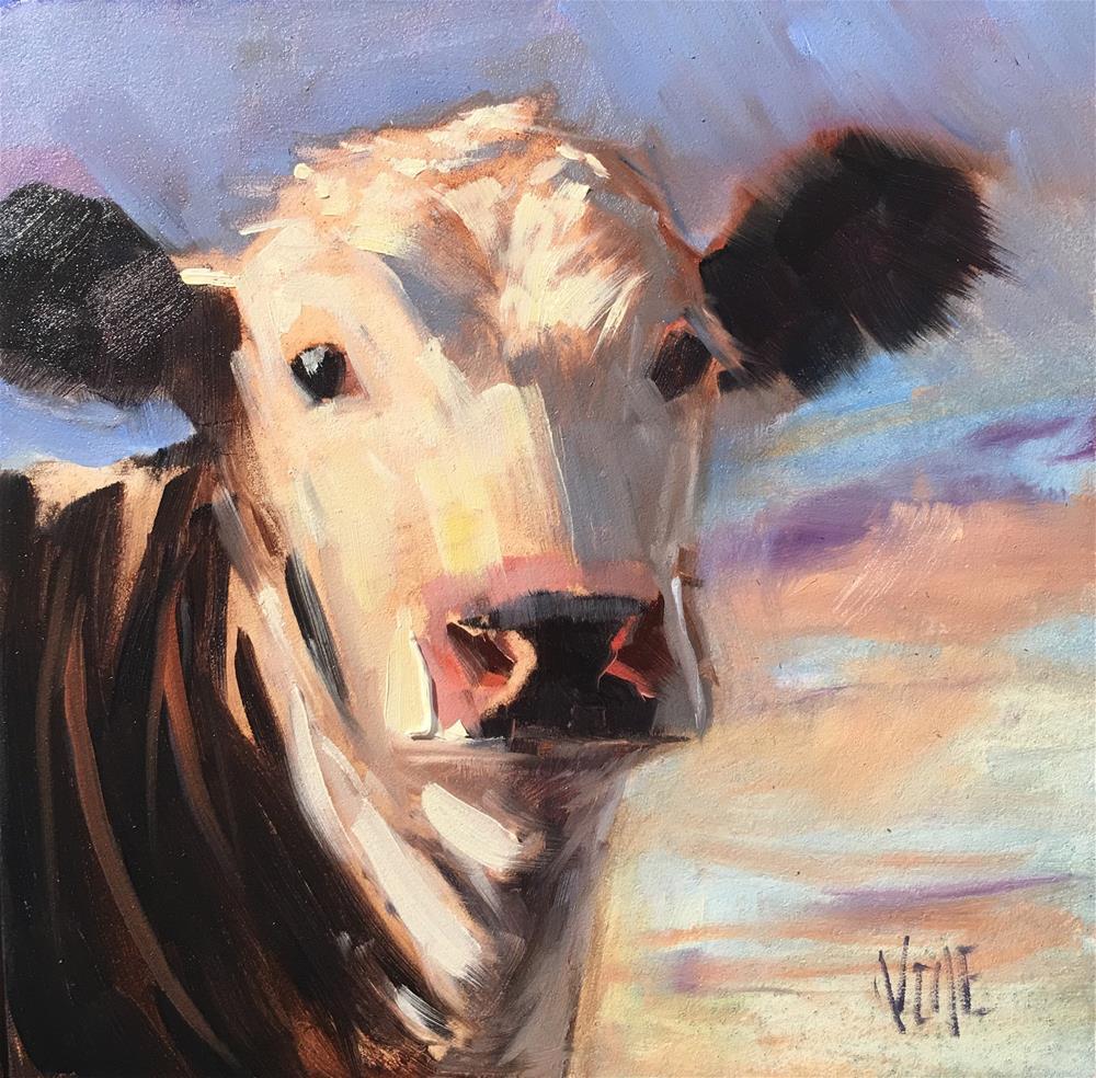 """""""#291 Scarlett"""" original fine art by Patty Voje"""