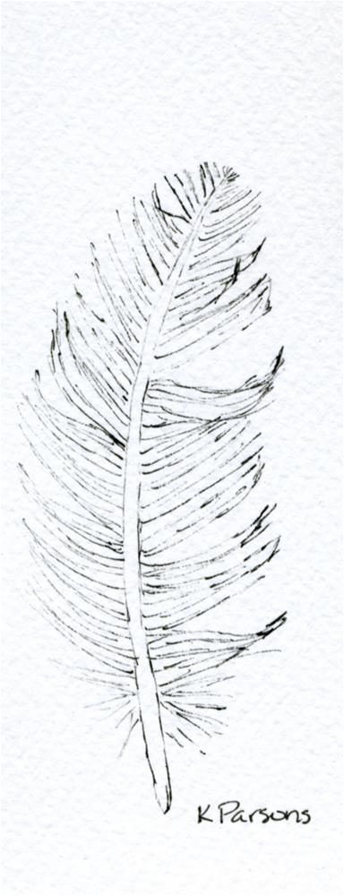 """Just One"" original fine art by Kali Parsons"