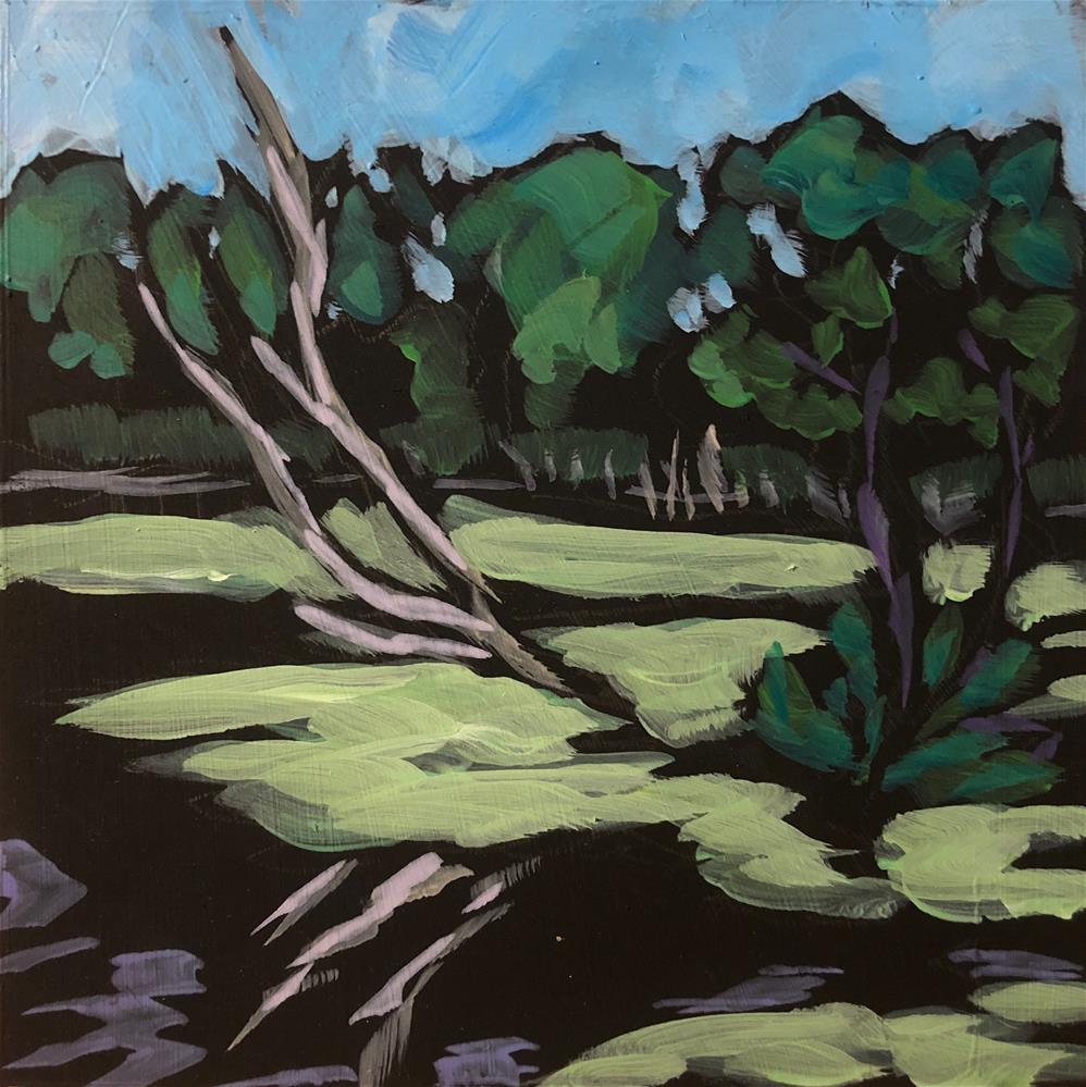 """Bone Tree at Dodge"" original fine art by Kat Corrigan"