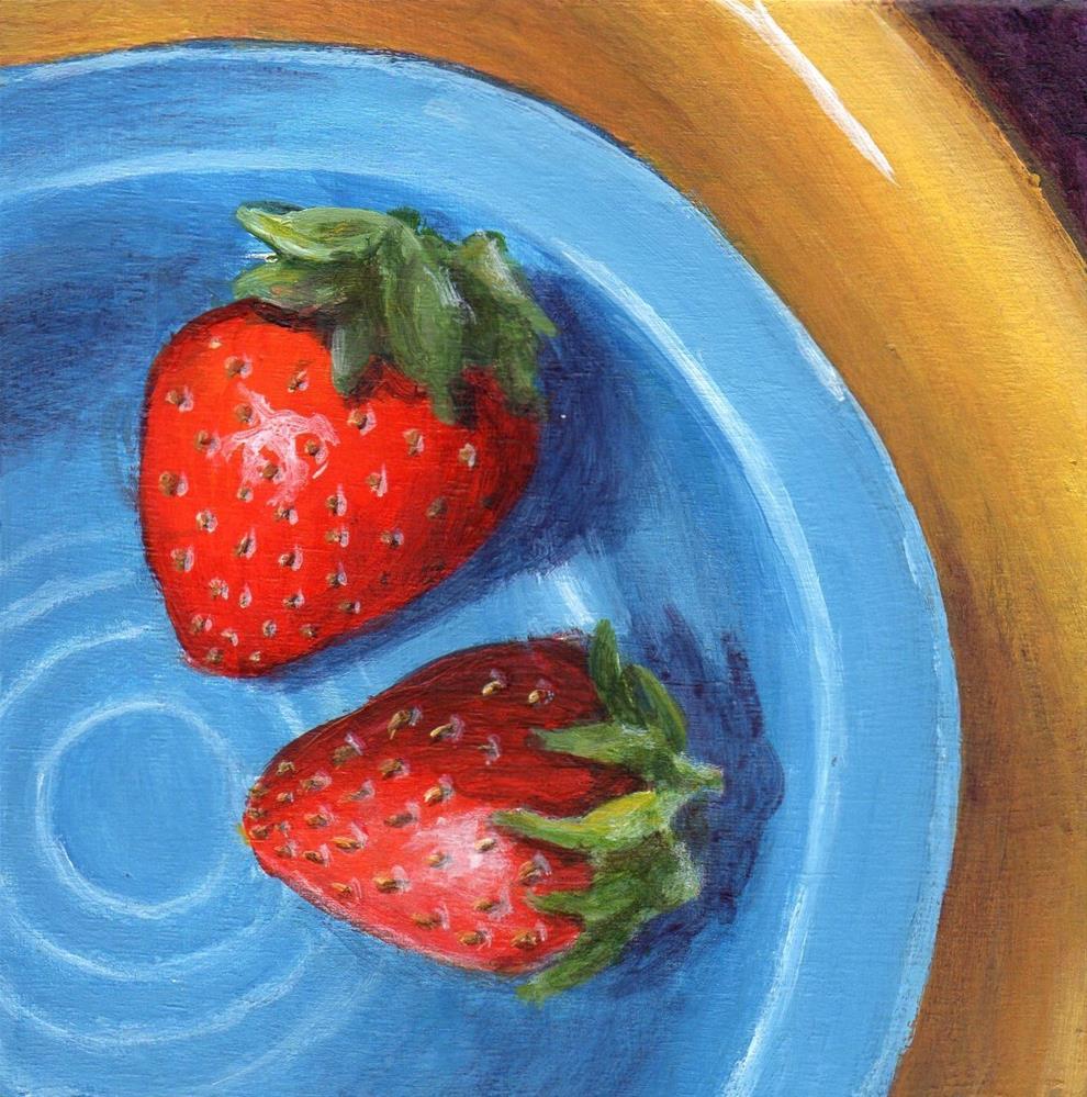"""Last Two"" original fine art by Debbie Shirley"