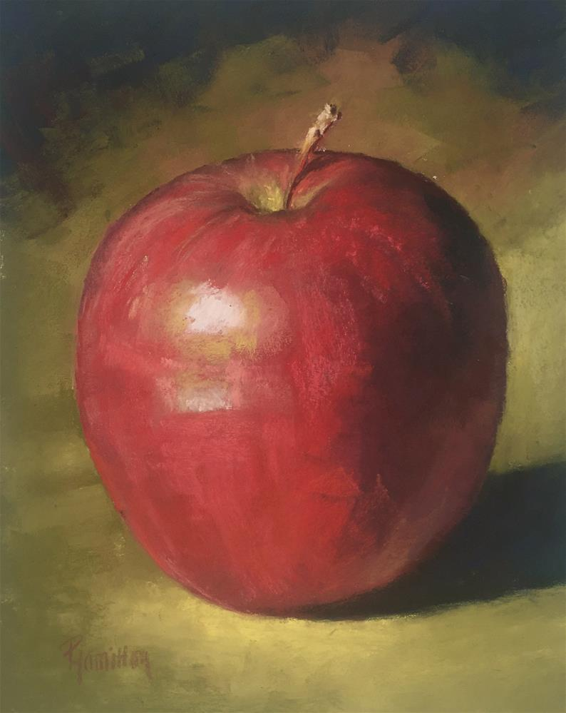 """An Apple A Day"" original fine art by Pamela Hamilton"