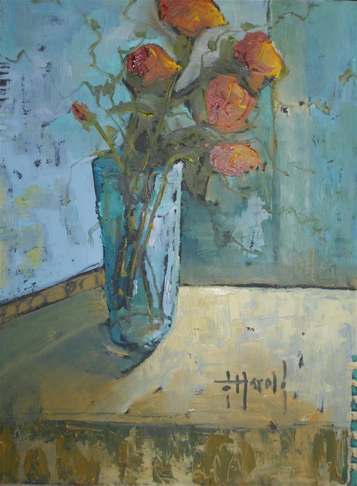 """Spanish Harlem"" original fine art by Deborah Harold"