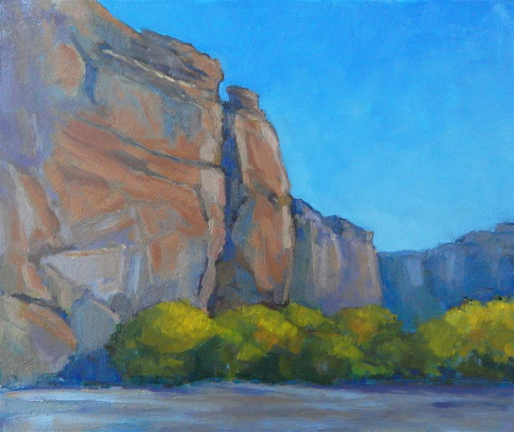 """""""In the Canyon"""" original fine art by Lisa Kyle"""