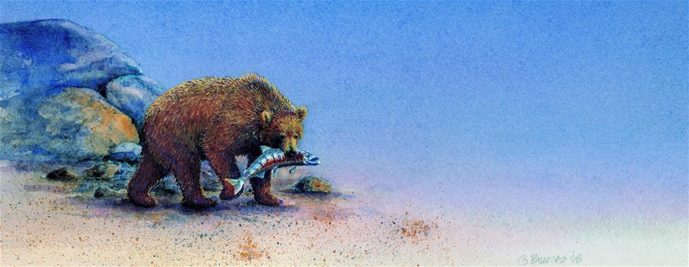"""""""Dinnertime"""" original fine art by Susanne Billings"""