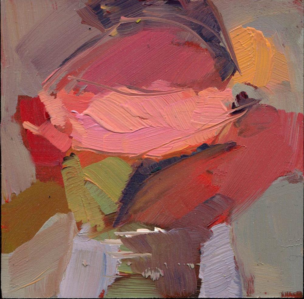 """""""1362  Social"""" original fine art by Lisa Daria"""