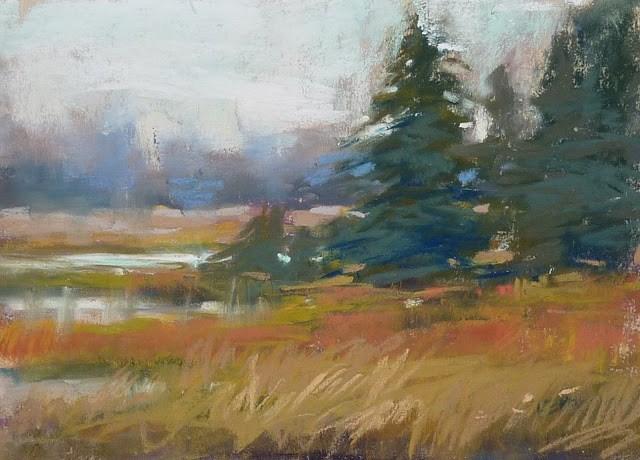 """First Look at Jack Richeson Handmade Soft Pastels"" original fine art by Karen Margulis"