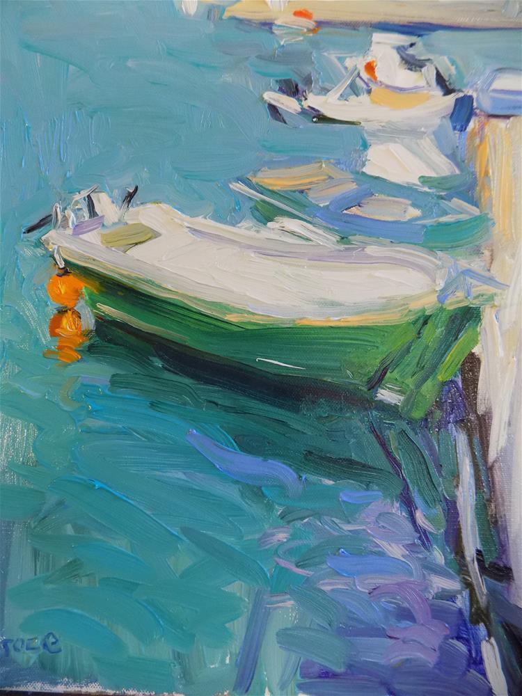 """""""A Touch Of Turquiose"""" original fine art by Rita Brace"""