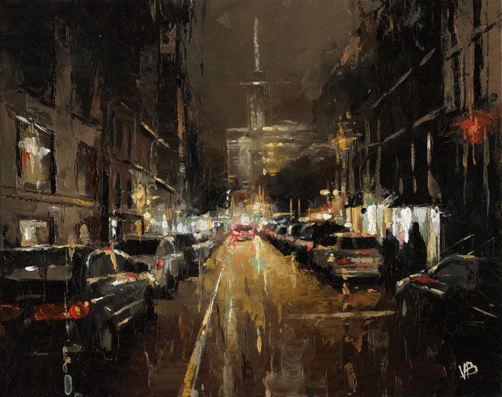 """Freedom Tower"" original fine art by Victor Bauer"