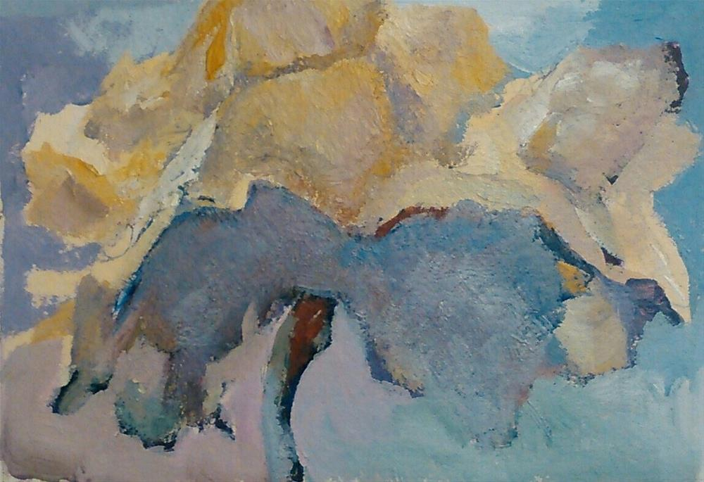 """""""Rose Tutu"""" original fine art by Ann Rudd"""