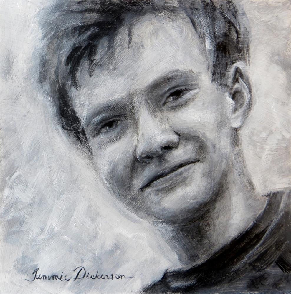 """Michael - value study"" original fine art by Tammie Dickerson"