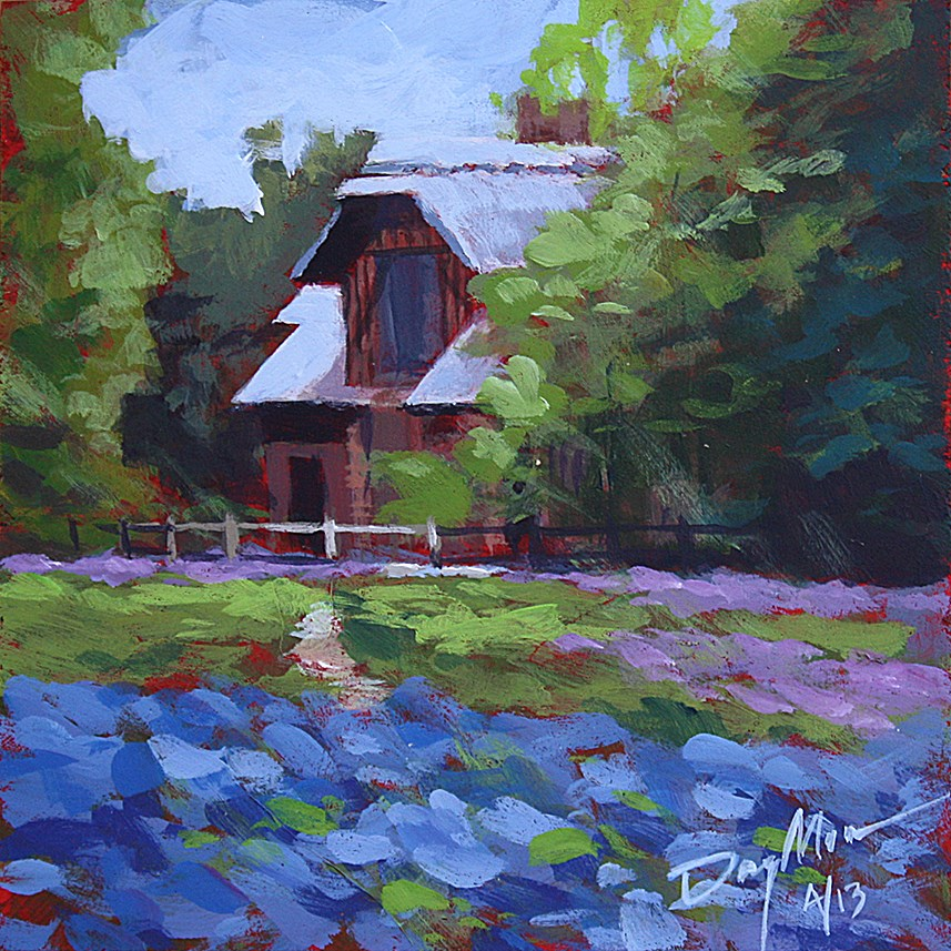 """Queen's Cottage"" original fine art by Mike Daymon"