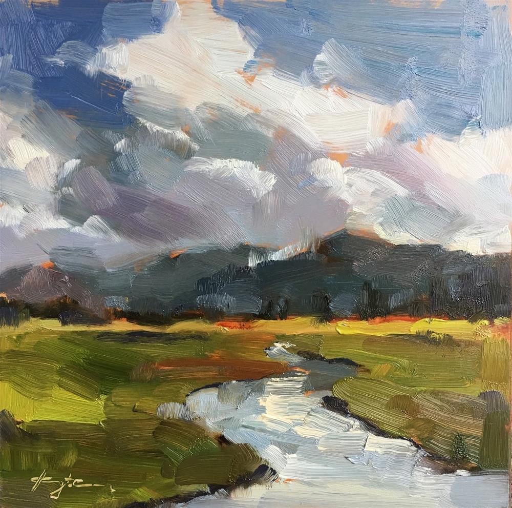 """Siletz Bay"" original fine art by Katia Kyte"