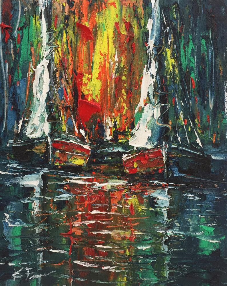 """In The Heat of The Night"" original fine art by Ken Fraser"