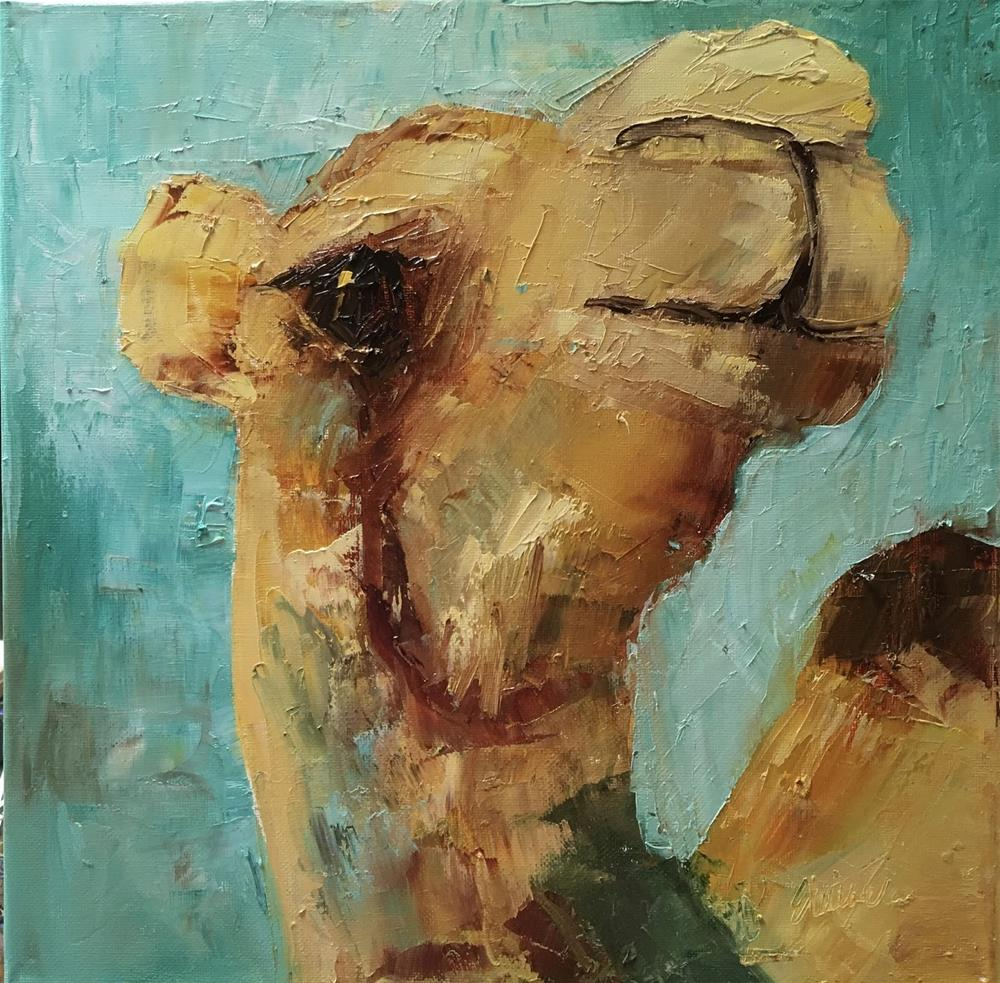 """Hump-frey"" original fine art by Elaine Ford"