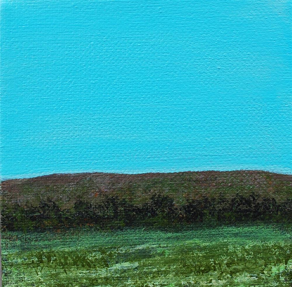 """""""Hill Country """" original fine art by Eva Art"""