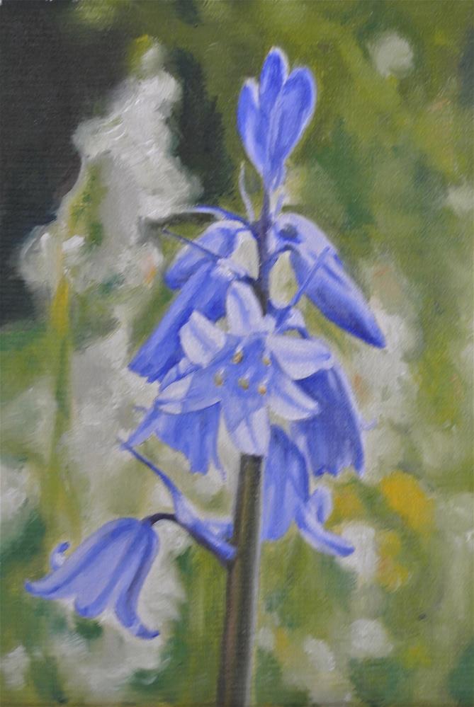 """Bluebell"" original fine art by James Coates"