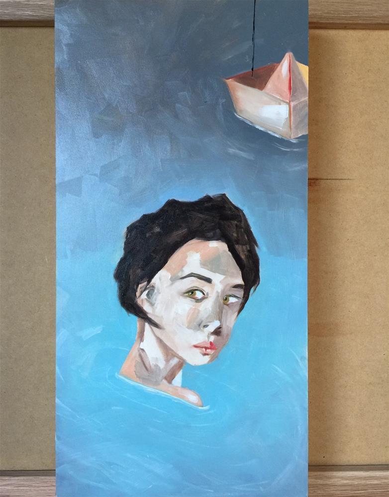 """101 Sailor"" original fine art by Jenny Doh"