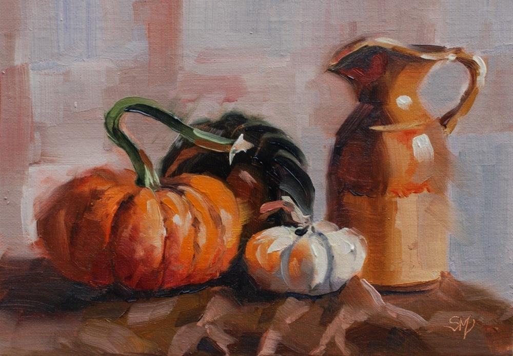 """No. 518 Autumn Still Life #3"" original fine art by Susan McManamen"